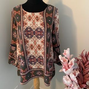 Fourteenth place top size Large